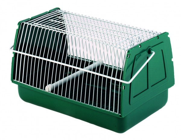 Transportbox von oben zu öffnen, besonders für kleine Nager und Vögel geeignet