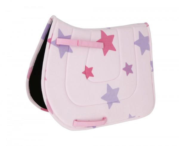 Schabracke Lilli Starlight in zart-rosafarbenem Design, für Ponys geeignet