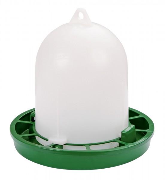 Futterautomat für Ziergeflügel, Zwergküken und Wachteln - original Stükerjürgen, Futterbehälter aus lebensmittelechtem Kunststoff, 1 kg Inhalt