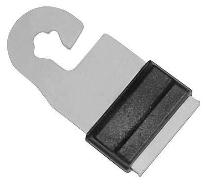 Torgriffverbinder für Weidezaunband, Litzclip® Verbinder für 10 - 20 mm breite Bänder, Abb. geschlossen