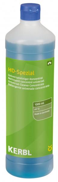 Universal-, Kraftreiniger für starke Verschmutzungen, Fette und Öle in der 1000 ml Flasche