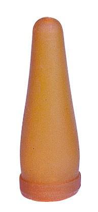 Lämmerflaschen Ersatzsauger aus Kautschuk, Nuckel passend für herkömmliche Flaschen