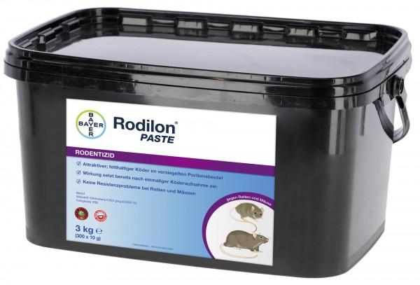 Rodilon Paste, attraktiver, fetthaltiger Köder gegen Haus-, Wanderratte und Hausmaus