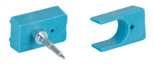 Umrüstsatz für Ohrmarkenzange, blau, AllFlex-Ohrmarken