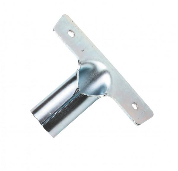 Besenstielhalter aus Metall mit Bohrlöchern