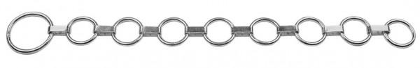 Flachgliederhalsband für Viehanbindung, galvanisch verzinkt, 90 cm lang