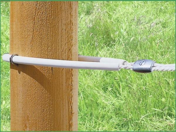 Schlauchisolator für AKO Horse Wire und Weidezaunseil bis 8 mm Durchmesser