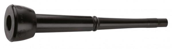 Zitzengummi DeLaval kleiner Kopf, 1 Rille, 292 x 24 mm