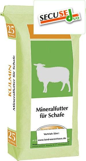 Mineralfutter für Schafe zur Ganzjahresversorgung, 25 kg Sack