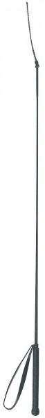 Reitgerte schwarz mit Handschlaufe, 100 cm lang