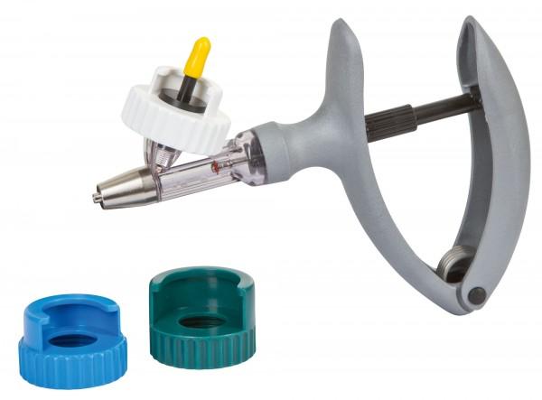 HSW ECO-Matic® mit Universaladapter-Set für Medikamentenflaschen 0,3 ml, Luer-Lock