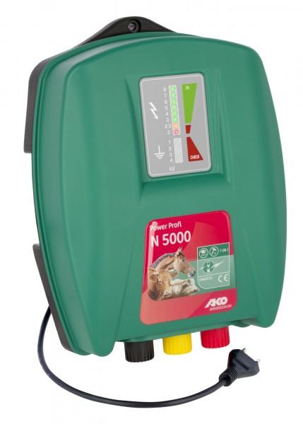 Power Profi N 5000, das neue Allroundgerät von AKO, Schlaggerät mit LED Bargraph Anzeige