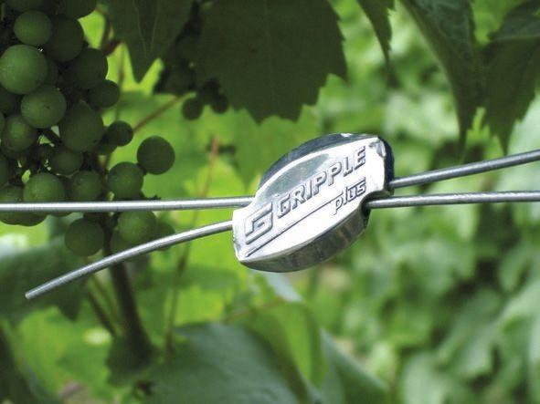 Gripple Drahtverbinder, Schnellverbinder für Weidezaundraht mit Durchmesser von 1 mm bis 3,25 mm geeignet