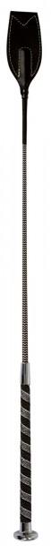 Springgerte 65 cm lang mit Anti-Slip Griff und mit silberfarbenen Applikationen