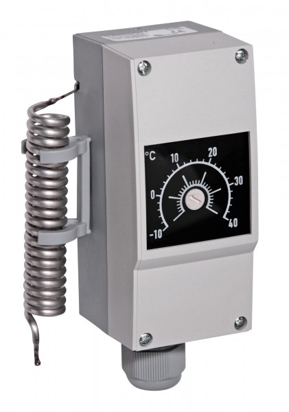 Frostschutz-Thermostat für Becken- und Rohrbeheizsysteme, Ansprechtemperatur frei wählbar