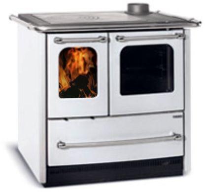 Koch- und Küchenherd SOVRANA EASY, Holzherd, weiß