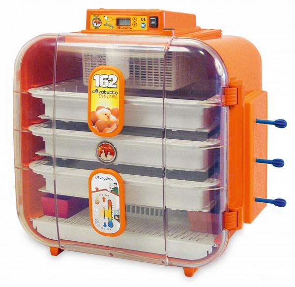 Brutautomat Covatutto 162 digital für Eier verschiedener Geflügelarten, 3-Etagen-Brüter