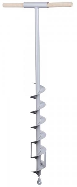 Erdbohrer, der ideale Helfer beim Zaunbau, Durchmesser 70 mm