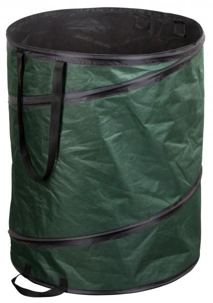 Gartentasche Pop-up, festes, dunkelgrünes, wasserabweisendes Polyester-Gewebe