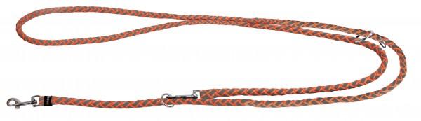 Führleine Maxi Safe, robuste Leinestark reflektierend, orange