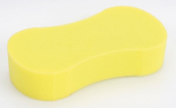 Reinigungsschwamm aus saugfähigem und abriebfestem Schaumstoff