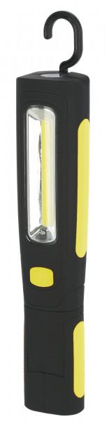 LED-Akkuarbeitsleuchte WorkFire mit Aufhängehaken, über USB aufladbar