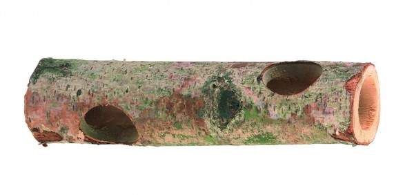 Hamstertunnel aus Naturholz für kleine Nager zum Klettern, Spielen und als Schlafhöhle