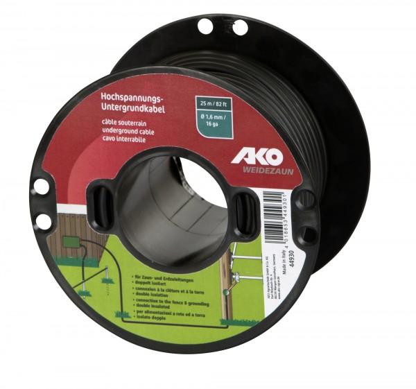 Qualität von AKO: Hochspannungs-Untergrundkabel doppelt isoliert optimal für feste Zaunanlagen
