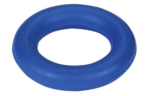 Ring, Gummiring, Hundespielzeug aus Vollgummi, 9 cm Durchmesser