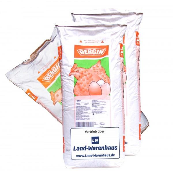 Bio-zertifiziertes Mineralfutter für Legehennen, Futterzusatz mit Vitaminen und Mineralien im 25 kg Sack