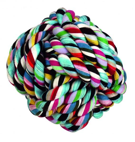 Knotenball aus 100 % Baumwolle, langlebig, robust und bissfest