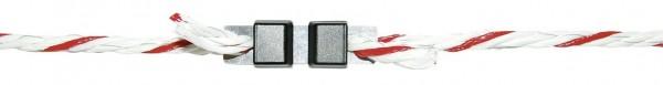 Litzclip® Seilverbinder verzinkt für Seile bis 5 mm Durchmesser, Abb. geschlossen