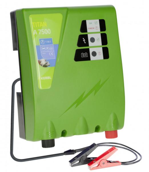 Titan A 7500 leistungsstärkstes 12 Volt Akkugerät für höchste Ansprüche, Farbe grün