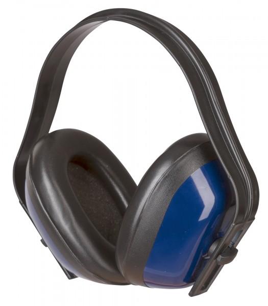 Kapselgehörschutz Basic stufenlos verstellbare Befestigungsbügel weiche Ohrmuschel