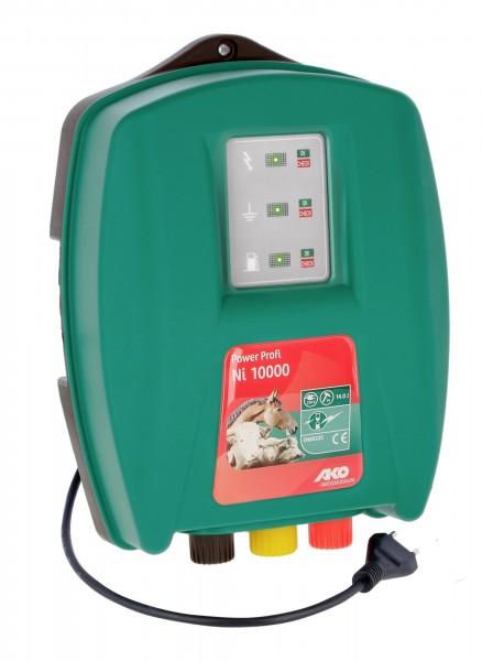 Power Profi Ni 10000, 230 V Netzgerät für lange Zäune und robuste Tiere sowie zur Wildabwehr