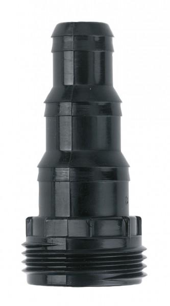 Schlauchanschluss 3-stufig, aus Kunststoff