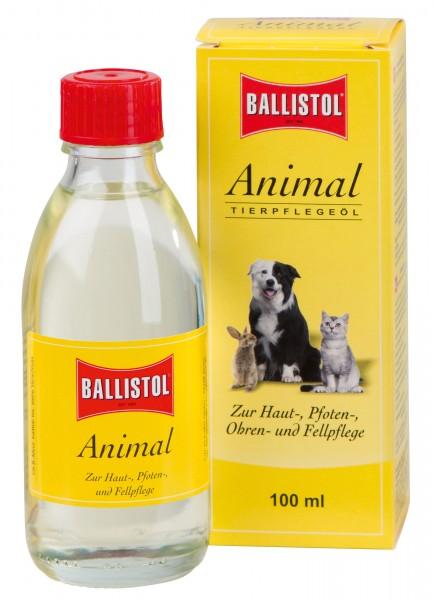 BALLISTOL Animal zur Pflege von Haut und Pfoten, Ohrmuscheln, Schweif-, Huf- und Fellpflege bei Pferden