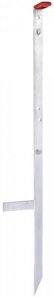 Erd-/ Tragestab ideal für DUO- und Hobby-Geräte, Metallpfahl mit Haken, verzinkt