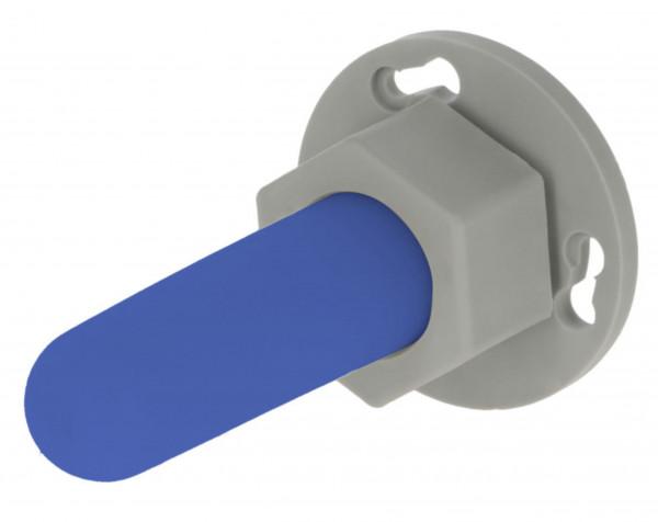 Beschäftigungssauger für Kälber, Nuckel zur Wandmontage, blauer Sauger ohne Lochung