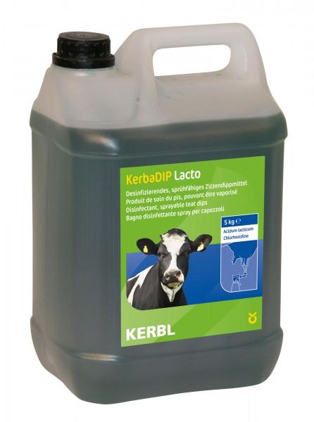 KerbaDip Lacto jodfrei auf Basis von Milchsäure und Chlorhexid