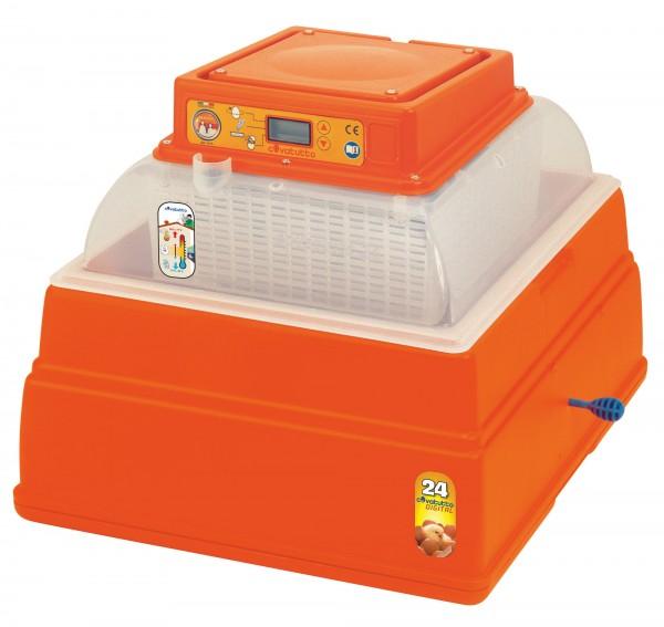Brutautomat Covatutto 24 digital, für 6-70 Eier je nach Geflügelrasse, Brutkiste mit Digitalthermometer