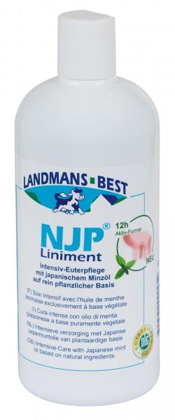 Euterpflege NJP® das Original! 500 ml in der Flasche zur Pflege der Euterhaut