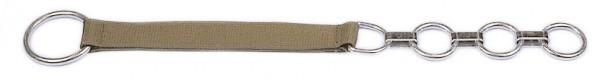 Flachgliederhalsband zur Rinderanbindung mit Nylongurt, 78 cm lang