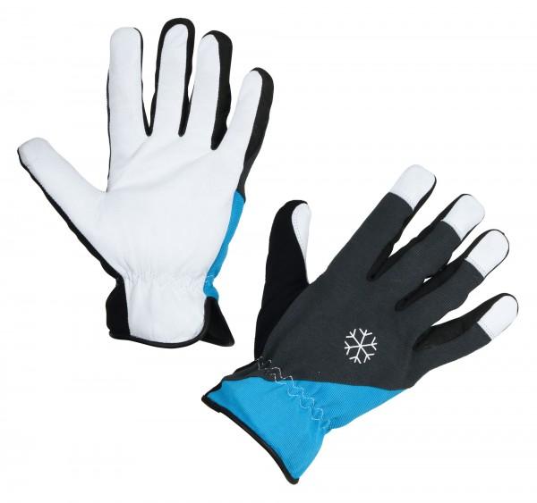 Winterhandschuh Eco-Polartex ist ein warm gefütterter, wasserdichter Lederhandschuh