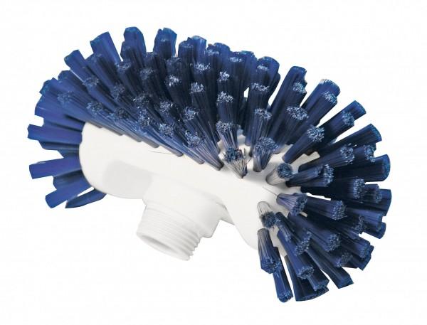 Kessel- oder Milchtankbürste hitzebeständige blaue Borsten, mittelhart