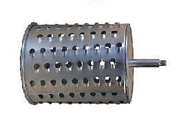 Ersatzwalze standard, verzinkte Schneidwalze aus Stahl passend für die grüne Tischrübenmühle