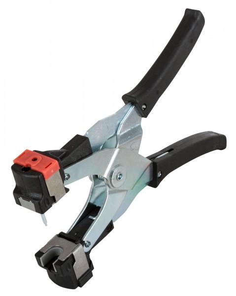 Ohrmarkenzange für FlexoPlus und Multiplex mit grauem Einsatz