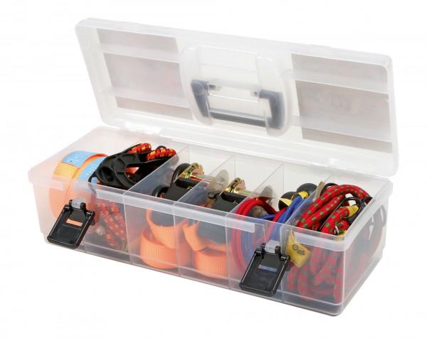 Zurrgurt-Set, 16-teilig in praktischer Aufbewahrungsbox