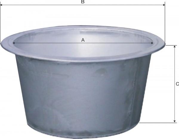 Schlachtekessel Einsatz aus Edelstahl, Kesseleinsatz für die Verarbeitung von Lebensmitteln