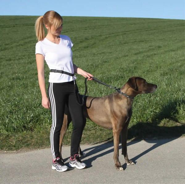 Joggingleine Active mit Hüftgurt und Haltegriff
